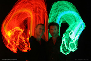 Lightwire Theater performs A Very Electric Christmas at Strathmore Saturday. (Photo: Nicholson/Carney/Popp)
