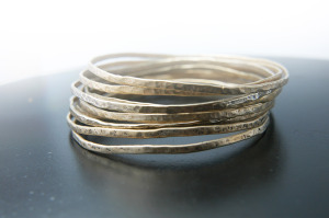 Stacked Bangles by SSD, artist Melissa Lowery (Photo: Strathmore)