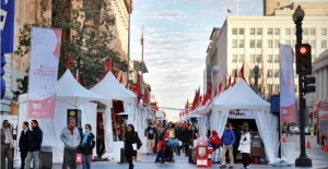 The Downtown Holiday Market in Penn Quarter is open through Dec. 23. (Photo: Downtown D.C. BID)