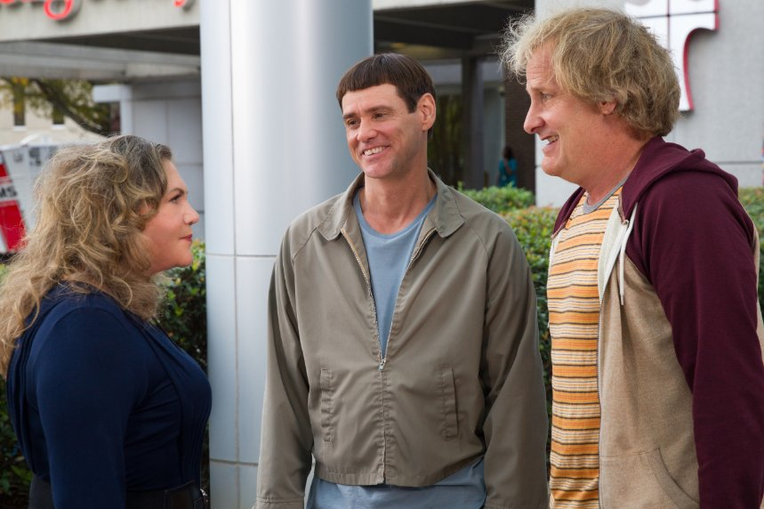 "Kathleen Turner (l to r), Jim Carrey and Jeff Daniels star in ""Dumb and Dumber To."" (Photo: Universal Pictures)"