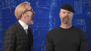 Adam Savage (left) and Jamie Hyneman bring MythBusters to the Warner Theatre. (Photo: MythBusters)