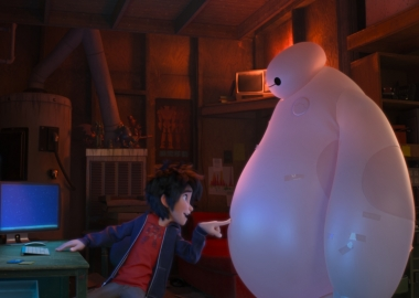 Hiro and Baymax (Photo: Walt Disney Animation Studios)
