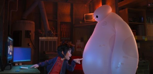 Hiro and Baymax (Photo: Walt Disney Animation Studios)