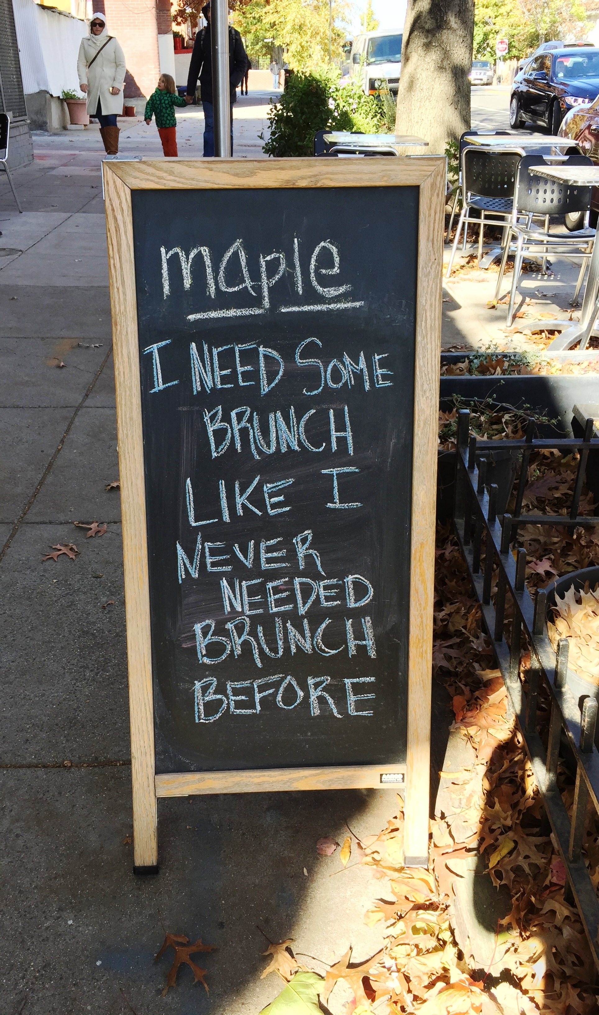 Maple brunch (Photo: Lanna Nguyen/DC on Heels)