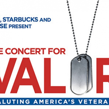 The free Concert for Valor will take place on the National Mall on Veterans Day. (Image: HBO)