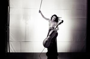 Cellist Maya Beiser performs at Sixth & I Historic Synagogue on Satruday. (Photo: Maya Beiser)