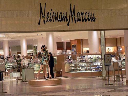 The perfume county at Neiman Marcus in Chevy Chase. (Photo: J. Winfred/Flickr)