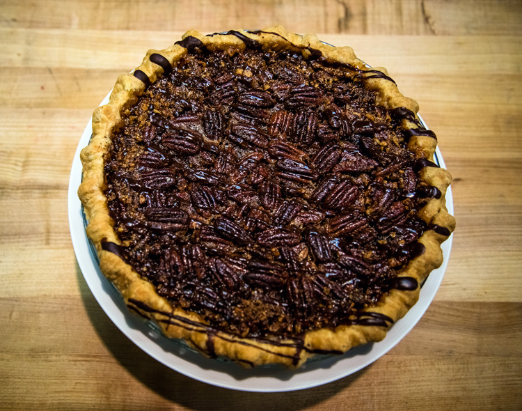 Baked and Wired's pecan Kahlua chocolate chip pie. (Photo: Baked and Wire)