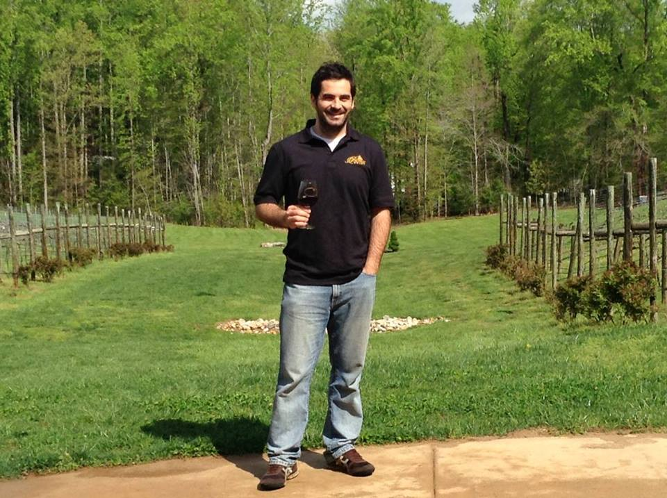 Winemaker David Pagan Castaño from Potomac Point Winery will be the guest at this month's wine wine tasting at Slate Wine Bar and Bistro. (Photo: Potomac Point Winery)
