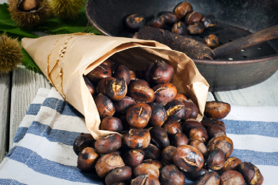 Lupo Verde will serve roasted chestnuts on its patio on Saturday, Dec. 6. (Photo: Getty Images)