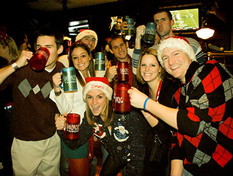Break out the tacky sweater and booze! (Photo: meetup.com)