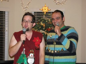 Sing ugly Christmas sweater kareoke on Saturday at Republic in Takoma Park. (Photo: Life Inspired)
