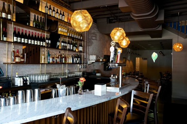 DC Harvest on H Street offer a weekend, late night happy hour at the bar. (Photo: Washingtonian)