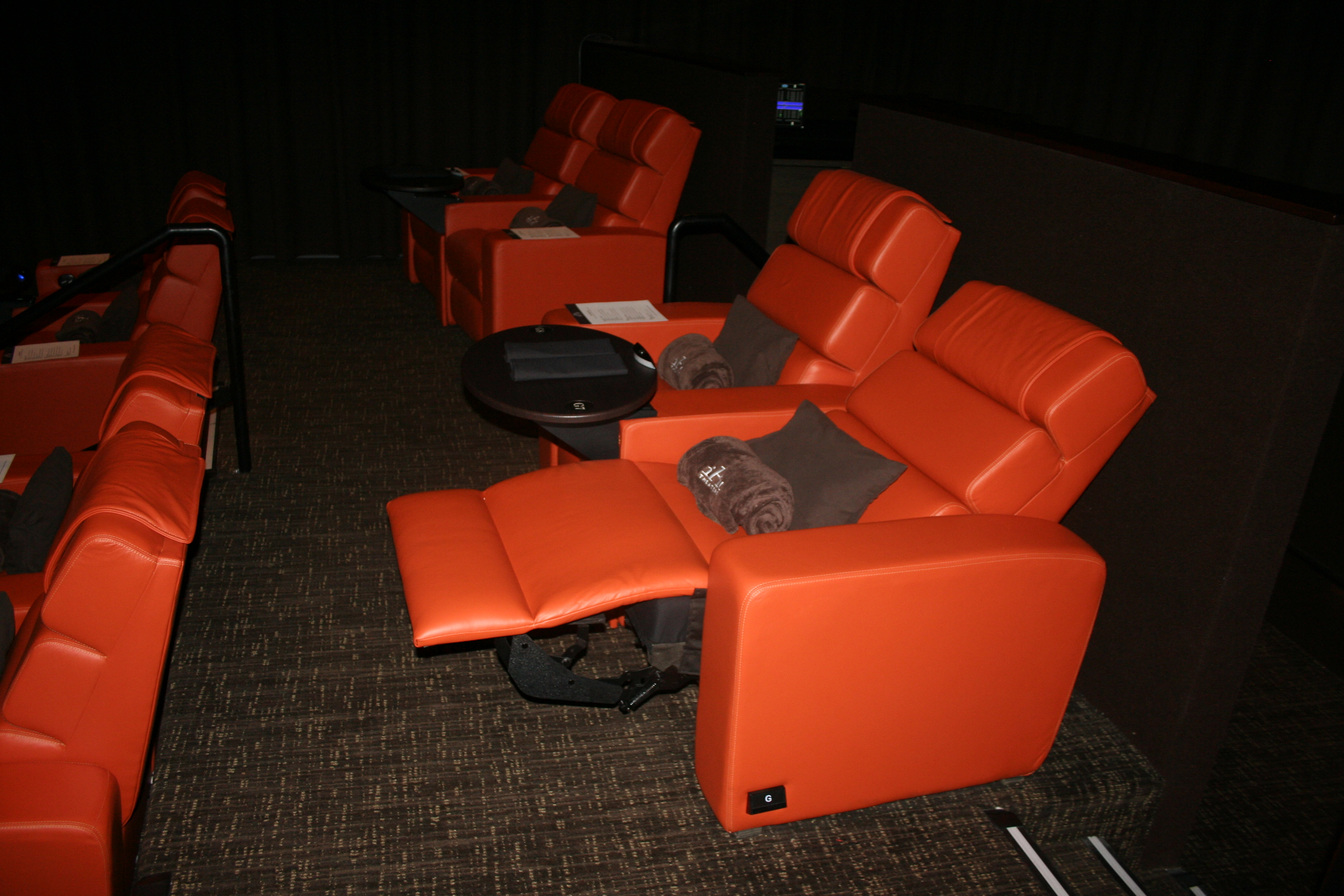 new ipic theater is pricy food is mediocre dc on heels