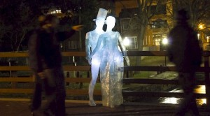 The light sculpture Travesias de Luz is part of Glow Georgetown. (Photo: spainculture.us)