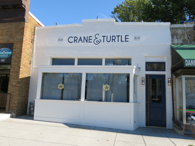 Crane & Turtle will close from Jan. 1-12. (Photo: Popville)