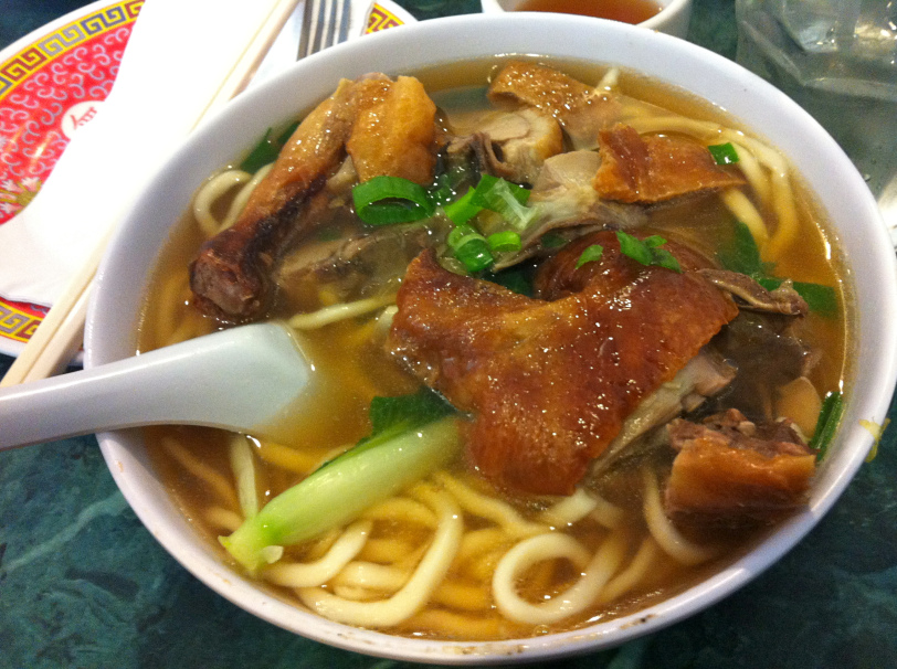 Duck soup at Chinatown Express (Photo: Lanna Nguyen/DC on Heels)