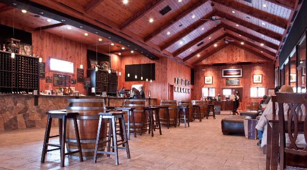 Paradise Spring Winery's main tasting room. (Photo: Paradise Springs Winery)