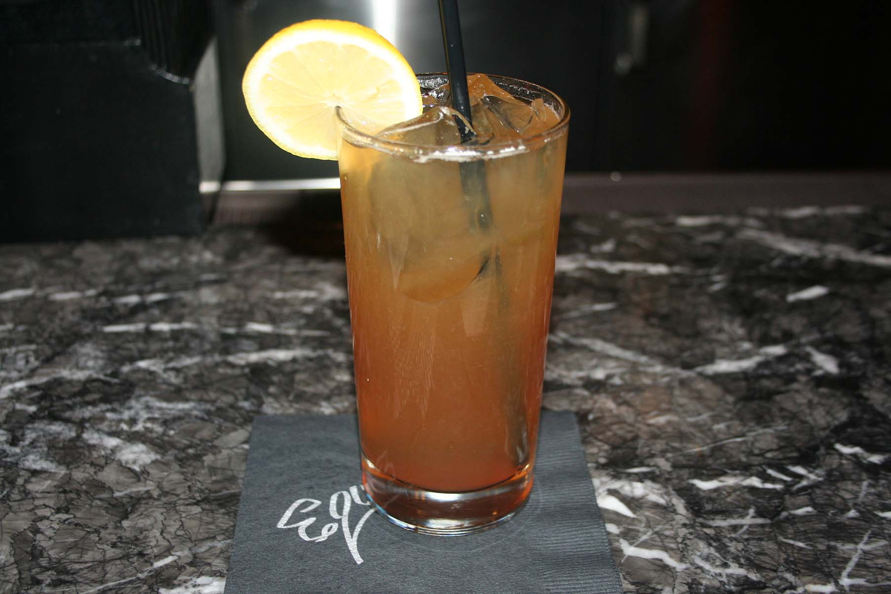 The Poor Zoey with scotch, unsweetened tea, lemon and honey was tasty. (Photo: Mark Heckathorn/DC on Heels)