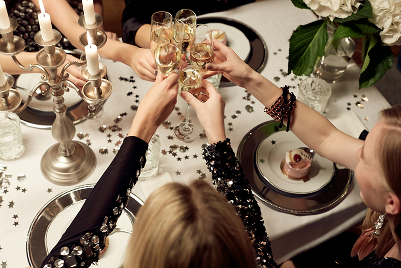 Many area restaurants are offering New Year's Eve and New Year's Day specials. (Photo: Fashion Squad)