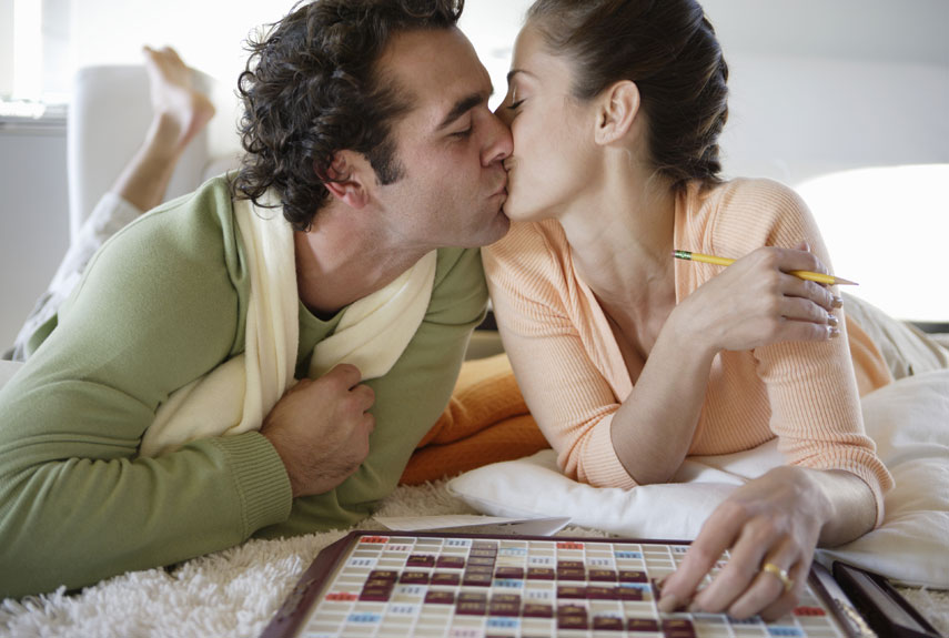 Bring out that silly, competitive side in your partner! (Photo: dallasmomsanddads.com)