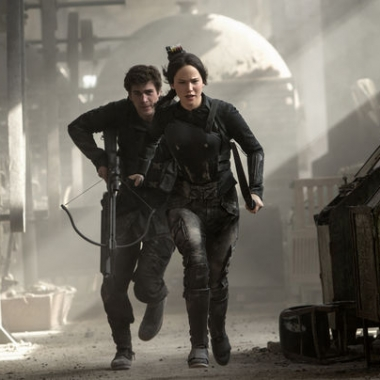 The Hunger Games: Mockingjay - Part 1 starring Jennifer Lawrence took in $22.03 million last weekend to lead the box office for a third consecutive weekend. (Photo: Murray Close/Lionsgate Entertainment)