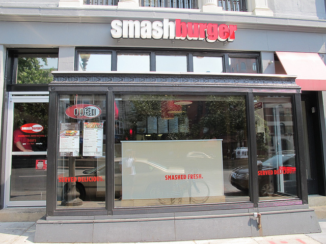 Smashburger closed in Dupont after opening little over a year ago. (Photo: Popville)