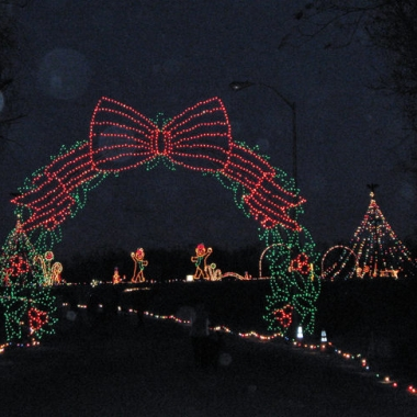 The Symphony of Lights in Columbia is a half hour drive through Christmas lights. (Photo: Baltimore Sun)