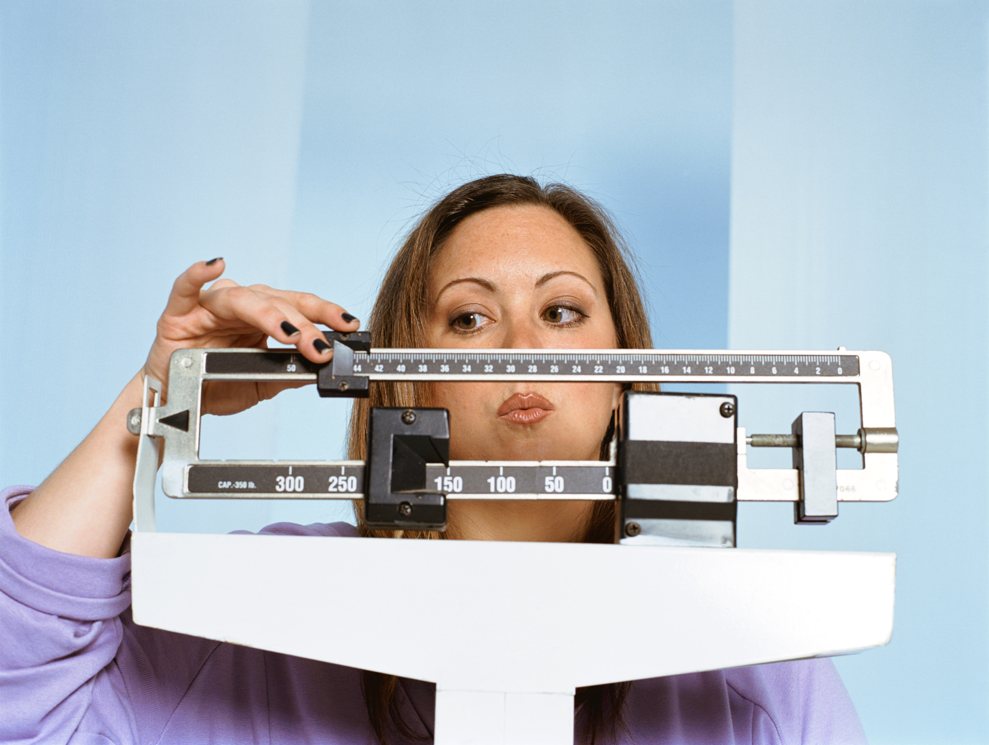 Have a support system if one of your New Year's resolutions is to loose weight. (Photo: ThinkStock)