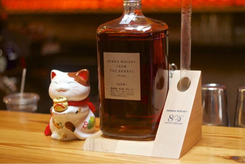 Nikka from The Barrel Japanese whiskey. (Photo: Daikaya/Facebook)