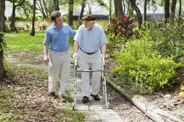 Balance training or assistive devices may be necessary as we age. (Photo: Lisa F. Young/Getty Images>