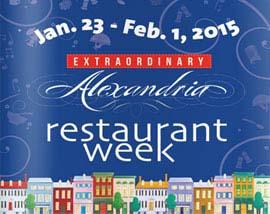 Alexandria's winter restaurant week is happening Jan. 23-Feb. 1. (Graphic: Visit Alexandria)