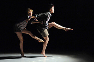 Chelsea Boyd-Brown and Bethany Disque perform. (Photo: Clarice Smith Performing Arts Center)