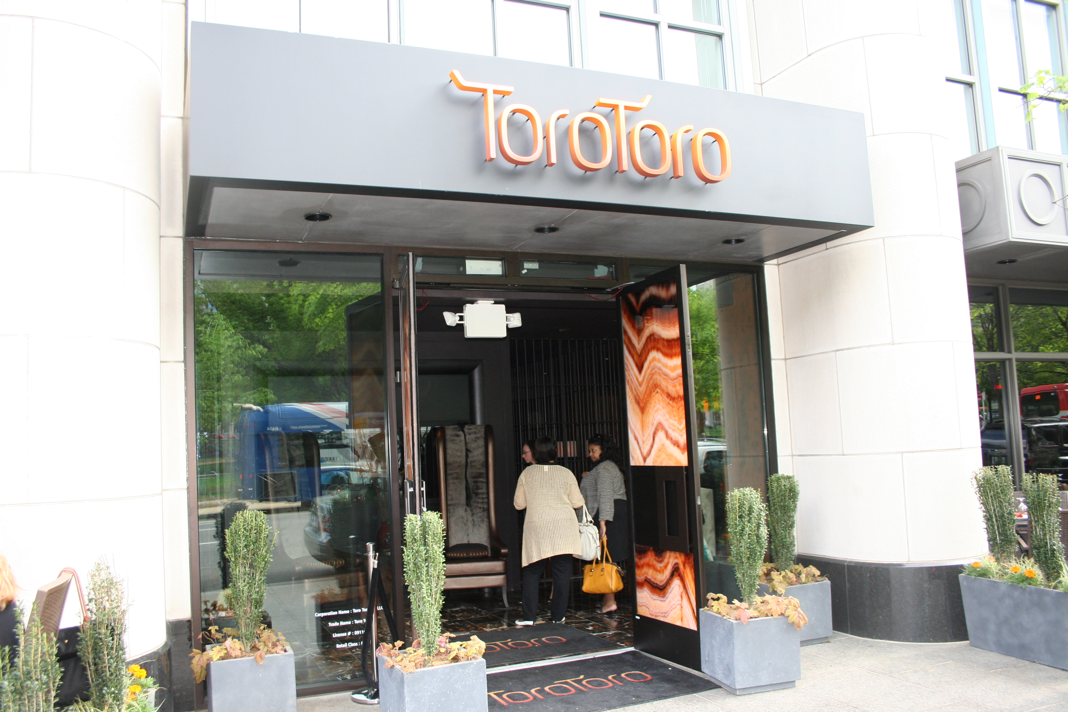 Chef Richard Sandoval's Toro Toro opens at Franklin Square in April. (Photo: Mark Heckathorn/DC on Heels)