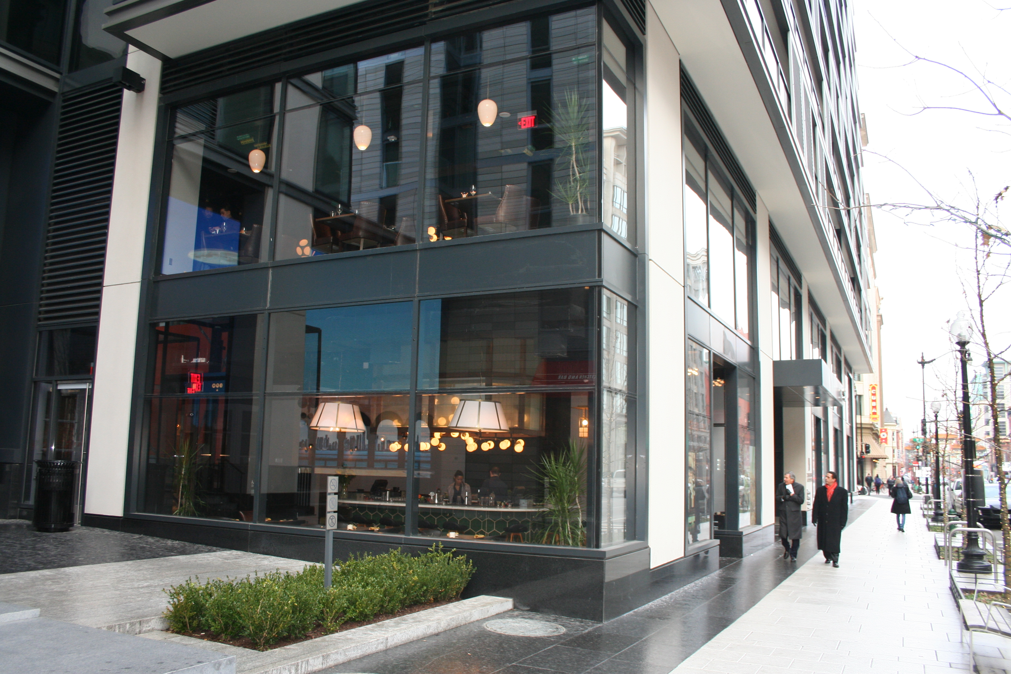Mango Tree opened in January at CityCenterDC across from DBGB Kitchen and Bar. (Photo: Mark Heckathorn/DC on Heels)