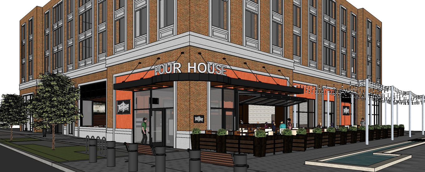 Old Town Pour House will open in Gaithersburg in March. (Graphic: Bottleneck Management)