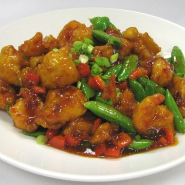 Kung pao shrimp is one of the special dishes on Legal Sea Foods Shrimp Classic menu. (Photo: Legal Sea Foods)