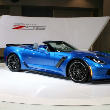 Chevrolet's Z06 Corvette is on display this week at the Washington Auto Show. (Photo: Mark Heckathorn/DC on Heels)