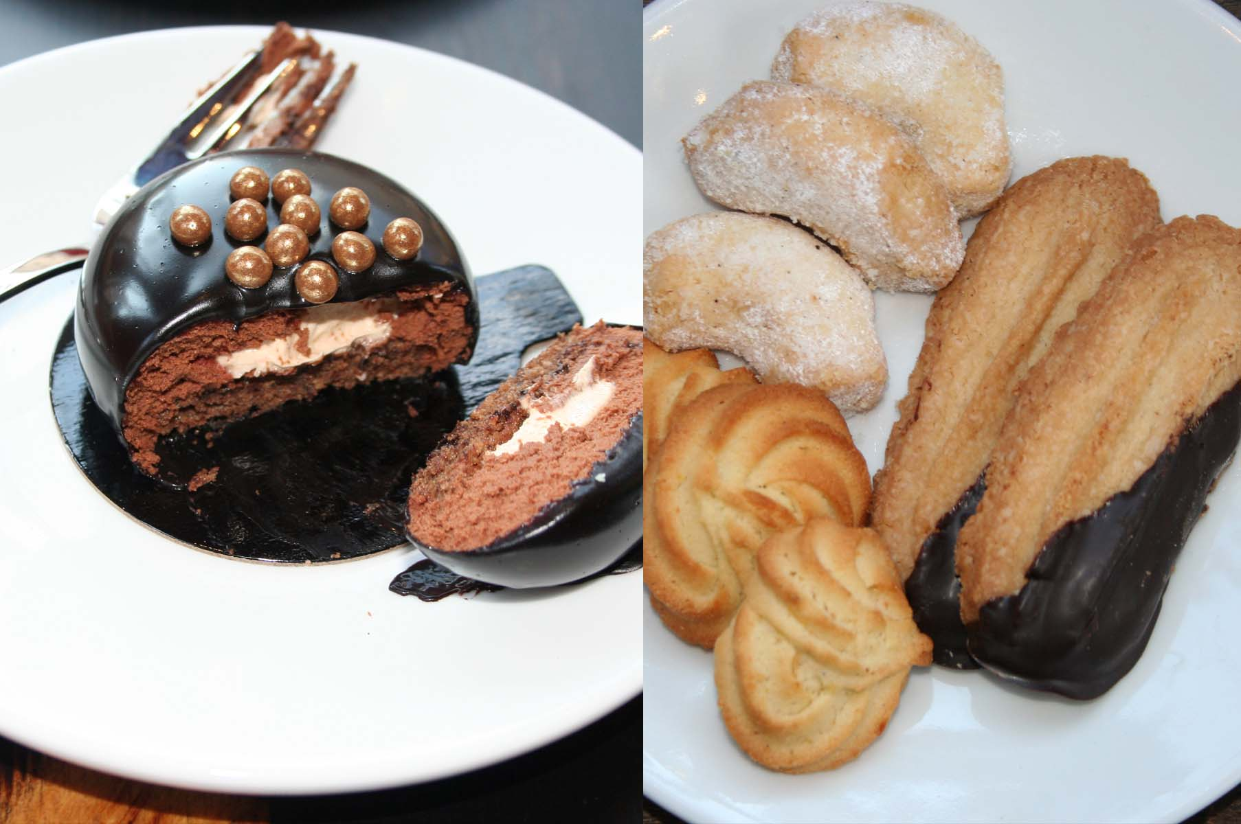 Evening sweets will include sacher torts and Viennese cookies. (Photo: Mark Heckathorn/DC on Heels)