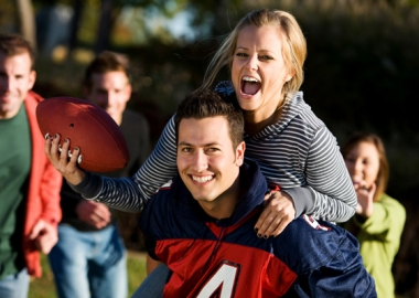 Try to get physical before the big game starts! (Photo: sheknows.com)