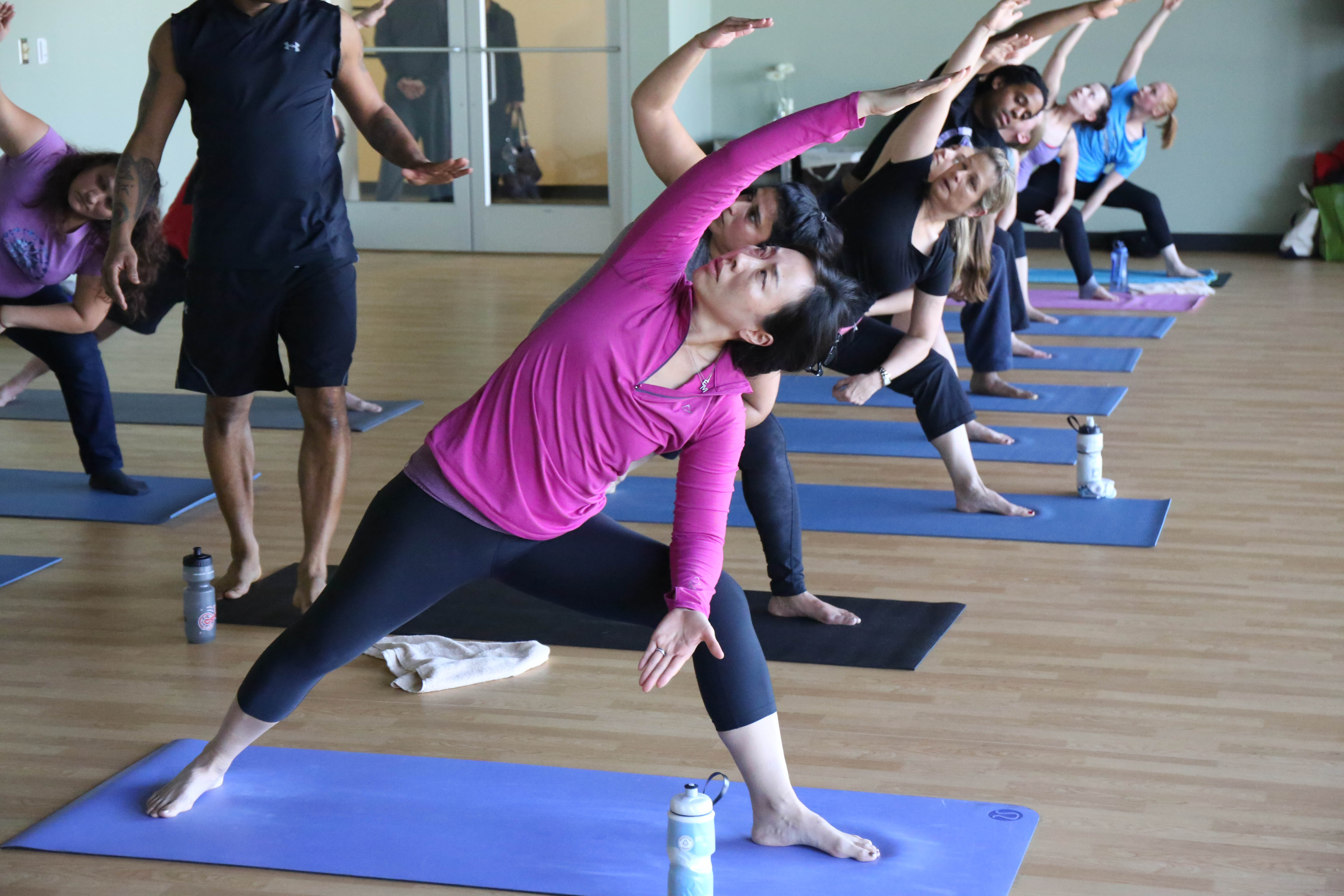 The Haven on the Lake offers a variety of yoga classes (Photo: Keithan Samuels/Columbia Association)