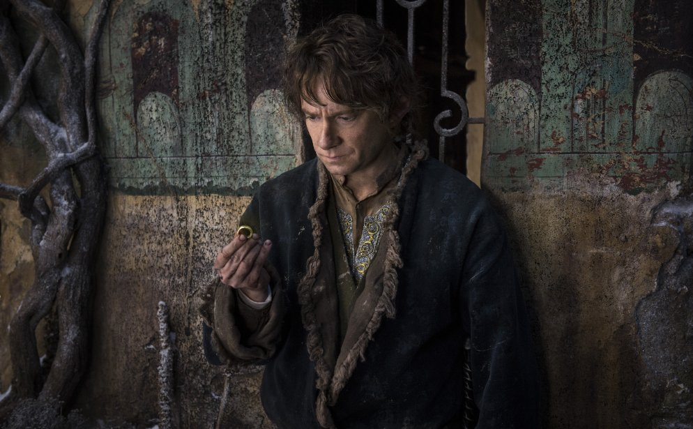 "Martin Freeman starts as Bilbo Baggins in ""The Hobbit: The Battle of the Five Armies."" (Photo: Mark Pokorny/Warner Bros.)"