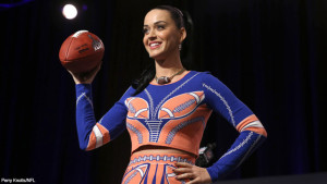 Katy Perry will perform during halftime at the Super Bowl. (Photo: NFL)