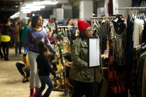 Shoppers look for deals at last year's Crystal Couture. (Photo: Crystal City BID)