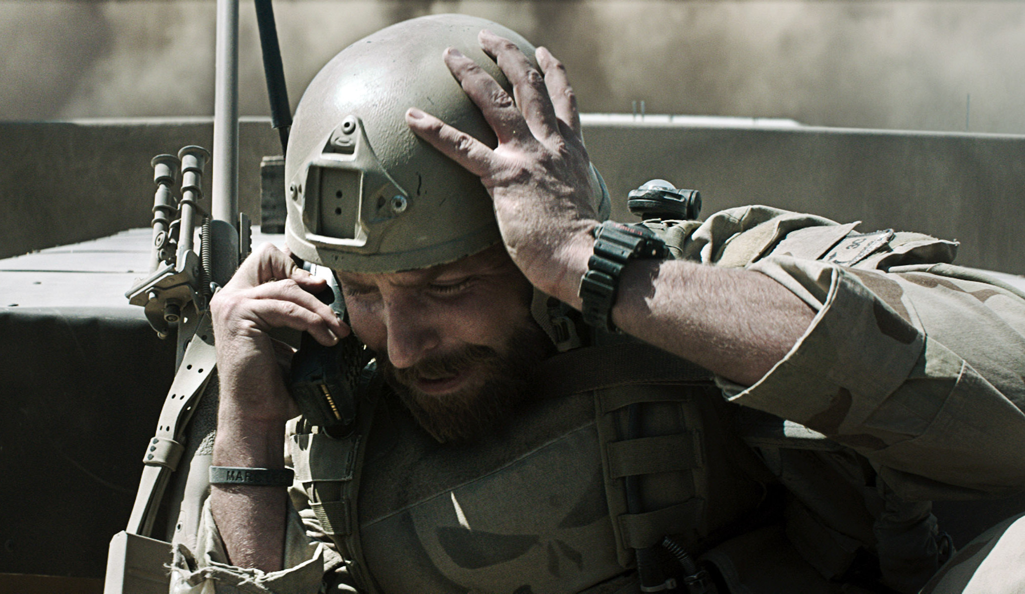 """Bradley Cooper in """"American Sniper"""" topped the box office for the third straight weekend. (Photo: Warner Bros.)"""