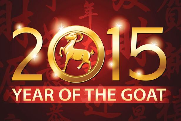Celebrate the Chinese year of the goat, which begins on Tuesday. (Photo: mirror.uk.com)