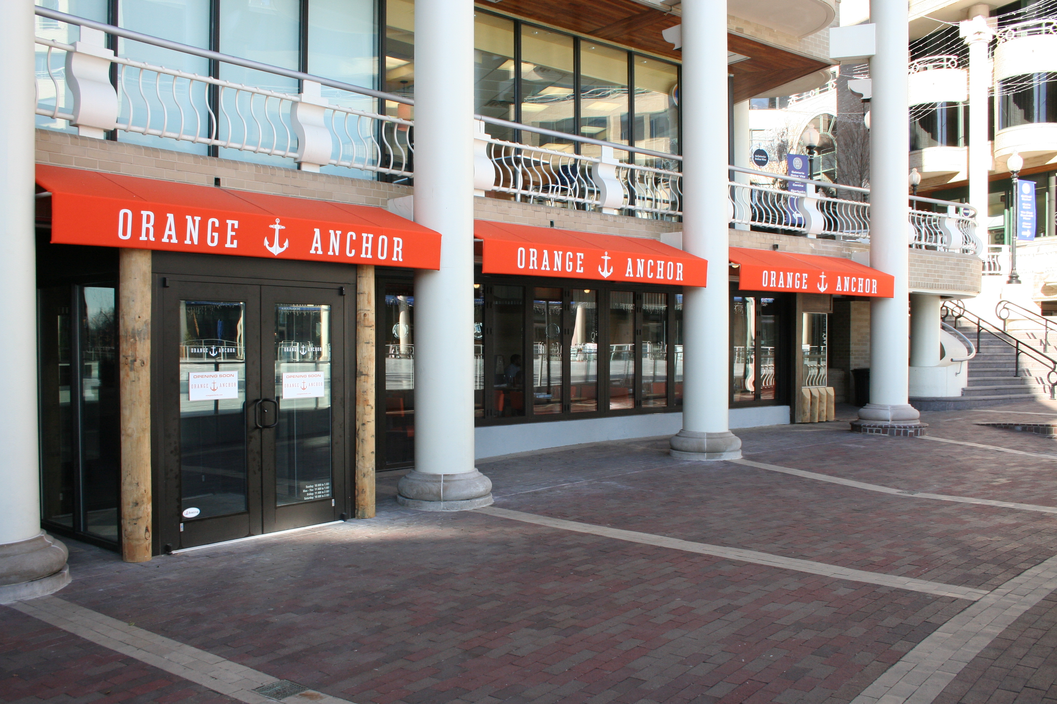Orange Anchor, which officially opens Friday, will have a 50 percent off soft opening Wednesday and Thursday.(Photo: Mark Heckathorn/DC on Heels)