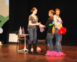 Imagination Stage's team performs their play last year. (Photo: Bethesda Urban Partnership_