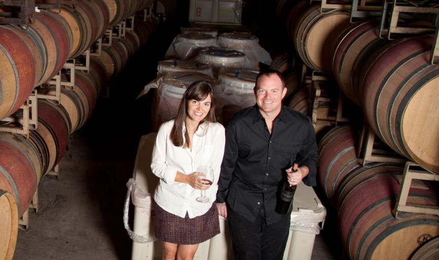 Juliana and Sean W. McBride are founders of Crosby Roamann Winery. (Photo: Crosby Roamann)