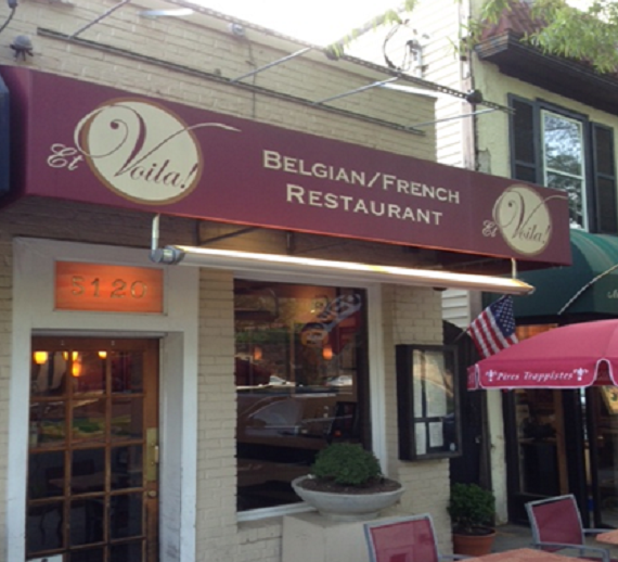 Et Viola! begins serving a three-course lunch on Tuesday. (Photo: Shawn Keeley)